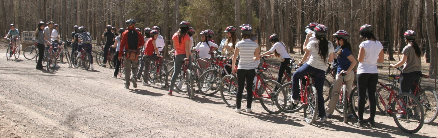 Mountain Bike en Uspallata, Mendoza